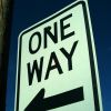 One way image